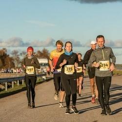 45. Saaremaa kolme päeva jooks - Ander Avila (314), Melissa Tuuling (315), Agnese Gaile (497)