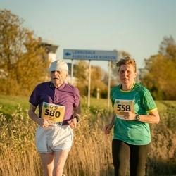 45. Saaremaa kolme päeva jooks - Valentina Chernousova (558), Paavo Vara (580)