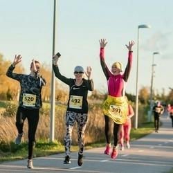 45. Saaremaa kolme päeva jooks - Eneken Jalast (391), Liina Jutt (492), Moonika Org (520)