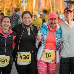 45. Saaremaa kolme päeva jooks - Reena Käo (16), Tiina Muts (436), Kristin Arm (451)