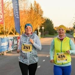 45. Saaremaa kolme päeva jooks - Liis Astover (241), Karin Lusikas (414)