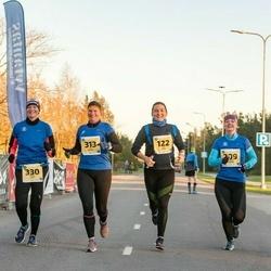 45. Saaremaa kolme päeva jooks - Liisi Park (122), Kristel Liivapuu (209), Liili Vatsar (313), Maria Sarv (330), Siiri Pilt (344), Kerli Pauskar (716)