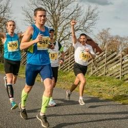 45. Saaremaa kolme päeva jooks - Kristjan Vares (13), Andres Ehala (470), Aaron Kais (561), Raigo Saar (648)
