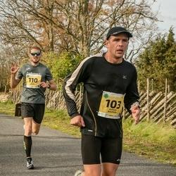 45. Saaremaa kolme päeva jooks - Jaanus Bauman (103), Erkki Ehasalu (110)