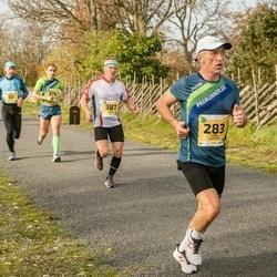 45. Saaremaa kolme päeva jooks - Karre Lauring (283), Raul Kangur (387)