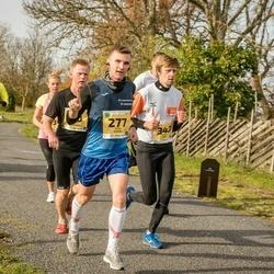 45. Saaremaa kolme päeva jooks - Sten Pisang (277), Silver Palu (343)