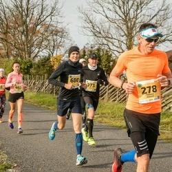 45. Saaremaa kolme päeva jooks - Toomas Kogger (278), Andrus Kivari (373), Hannagret Luks (428), Helina Pärn (463)