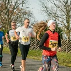 45. Saaremaa kolme päeva jooks - Indrek Saaremäel (56), Erkki Pikk (115), Rivo Subi (181), Hannagret Luks (428)