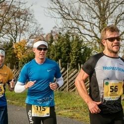 45. Saaremaa kolme päeva jooks - Indrek Saaremäel (56), Erkki Pikk (115), Maris Heinols (416)