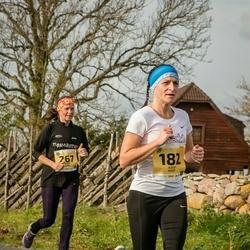45. Saaremaa kolme päeva jooks - Külli Hunt (182), Maris Jaama (267)