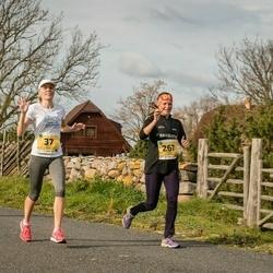 45. Saaremaa kolme päeva jooks - Liselle Luks (37), Maris Jaama (267)