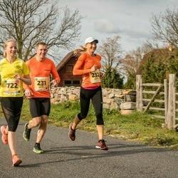 45. Saaremaa kolme päeva jooks - Janno Kaljuvee (231), Diana Kaljuvee (232)