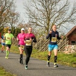 45. Saaremaa kolme päeva jooks - Kersti Jääger (228), Hannes Oks (411)