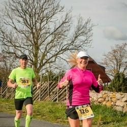 45. Saaremaa kolme päeva jooks - Kairit Valk (126), Urmo Auväärt (363)