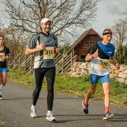 45. Saaremaa kolme päeva jooks - Arnold Nõmm (170), Tanel Tamm (312)