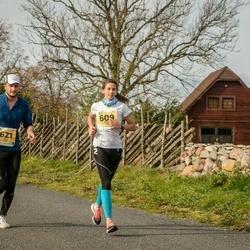45. Saaremaa kolme päeva jooks - Maarja Pärs (609), Eedi Sepp (621)