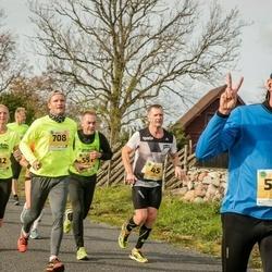 45. Saaremaa kolme päeva jooks - Ain Kurvits (45), Eneli Pall (512), Urmas Treiel (545), Juhan Telling (551), Matis Merivee (708)