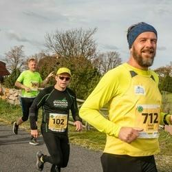 45. Saaremaa kolme päeva jooks - André Abner (102), Raul Vinni (712)