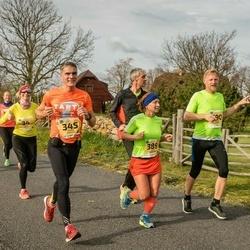 45. Saaremaa kolme päeva jooks - Daiga Dabola (34), Andres Sinisalu (345), Kaire Taberland (389)