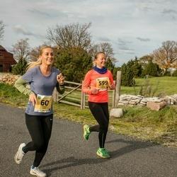45. Saaremaa kolme päeva jooks - Eveliis Saar (60), Liina Areng (599)