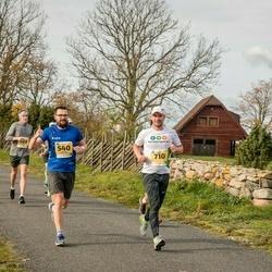 45. Saaremaa kolme päeva jooks - Andrus Naulainen (540), Priit Toru (710)