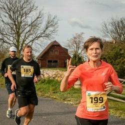 45. Saaremaa kolme päeva jooks - Meelis Atonen (185), Anne-Li Tilk (199)