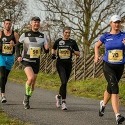 45. Saaremaa kolme päeva jooks - Raul Reiska (90), Kadri Veske (669), Ragnar Rannasto (689)