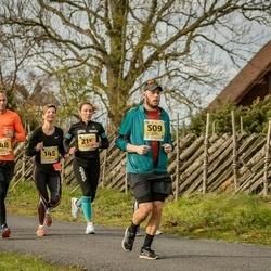 45. Saaremaa kolme päeva jooks - Jana Veenpere (145), Andres Veenpere (148), Aadu Polli (150), Annely Saar (215), Mihkel Meerits (509)