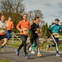 45. Saaremaa kolme päeva jooks - Jana Veenpere (145), Andres Veenpere (148), Aadu Polli (150), Einar Järve (167)