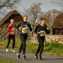 45. Saaremaa kolme päeva jooks - Berit Rohtjärv (377), Mari-Liis Tamm (396), Siiri Tamm (405), Terje Tasane (654)