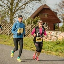 45. Saaremaa kolme päeva jooks - Rein Kane (352), Heli Mäesepp (444), Sointi Hyttinen (707)