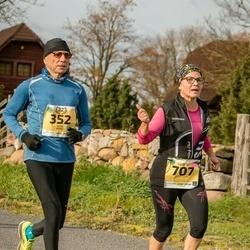 45. Saaremaa kolme päeva jooks - Rein Kane (352), Sointi Hyttinen (707)
