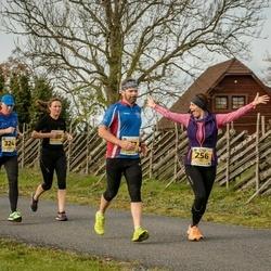 45. Saaremaa kolme päeva jooks - Ingrid Piht (256), Raivo Panker (324)