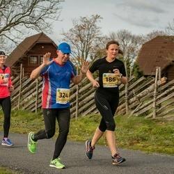 45. Saaremaa kolme päeva jooks - Kätlin Atonen (186), Raivo Panker (324)