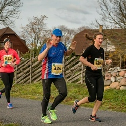45. Saaremaa kolme päeva jooks - Kätlin Atonen (186), Raivo Panker (324), Annely Kärema (623)
