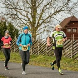 45. Saaremaa kolme päeva jooks - Mirjam Männamaa (398), Ahti Lepp (440)