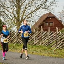 45. Saaremaa kolme päeva jooks - Liis Remmelg (17), Kristin Arm (451)