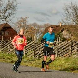 45. Saaremaa kolme päeva jooks - Eve Hermat (305), Silver Tulik (629)