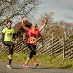 45. Saaremaa kolme päeva jooks - Mare Mändla (347), Ülle Liiv (459)