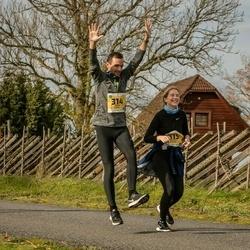 45. Saaremaa kolme päeva jooks - Ander Avila (314), Melissa Tuuling (315), Carmen Kolomainen (422)