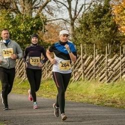 45. Saaremaa kolme päeva jooks - Annika Kurs (223), Lauri Kurs (224), Triin Kink (264)