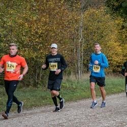 45. Saaremaa kolme päeva jooks - Annely Saar (215), Mart Salusaar (489), Kaarel Kender (524), Kristjan Kuusik (570)