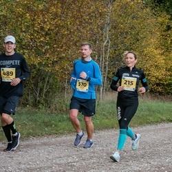 45. Saaremaa kolme päeva jooks - Annely Saar (215), Mart Salusaar (489), Kristjan Kuusik (570)