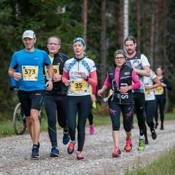 45. Saaremaa kolme päeva jooks - Küllike Puusepp (35), Henry Ots (573)