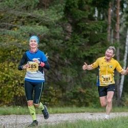 45. Saaremaa kolme päeva jooks - Juhan Änilane (201), Eda Lehmann (585)