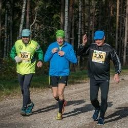 45. Saaremaa kolme päeva jooks - Matti Silber (190), Agur Ostrak (230)