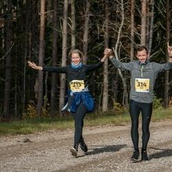 45. Saaremaa kolme päeva jooks - Ander Avila (314), Melissa Tuuling (315)
