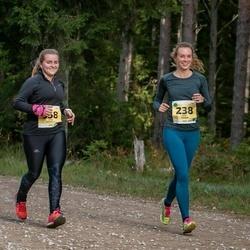 45. Saaremaa kolme päeva jooks - Kaili Kuusik (238), Anni Adamson (358)