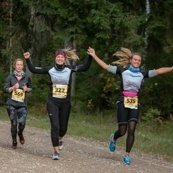 45. Saaremaa kolme päeva jooks - Mari Helstein (535), Krista Raid (569)