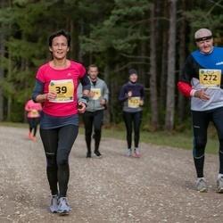 45. Saaremaa kolme päeva jooks - Anne Lõhmus (39), Tõnu Pullerits (272)